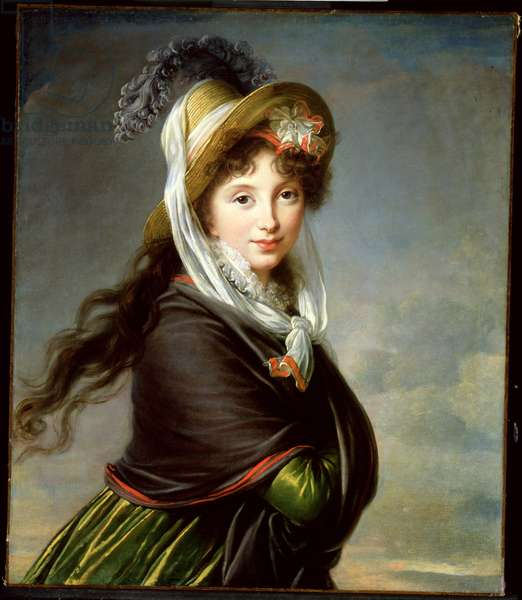 Portrait of a Young Woman, c.1797 (oil on canvas)