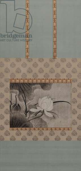 Lotuses (ink on paper)