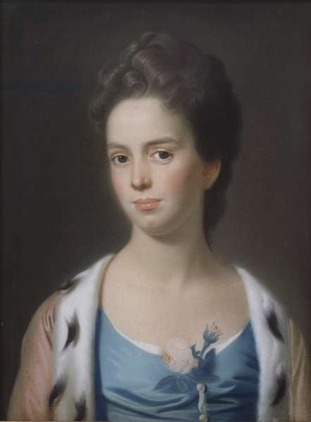 Mrs Joseph Barrell (Hannah Fitch) c.1771 (oil on canvas)