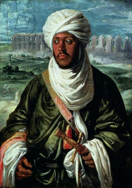 Mulay Ahmad, c.1609 (oil on panel)