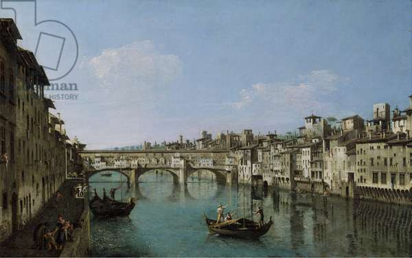 The Ponte Vecchio, Florence, 1740–80 (oil on canvas)