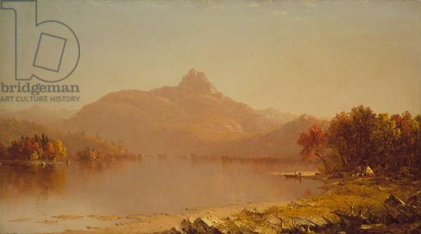 An October Afternoon, 1871 (oil on canvas)
