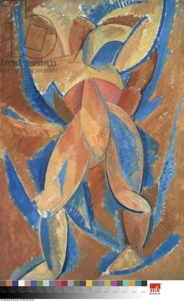 Standing Woman, 1908 (oil on canvas)