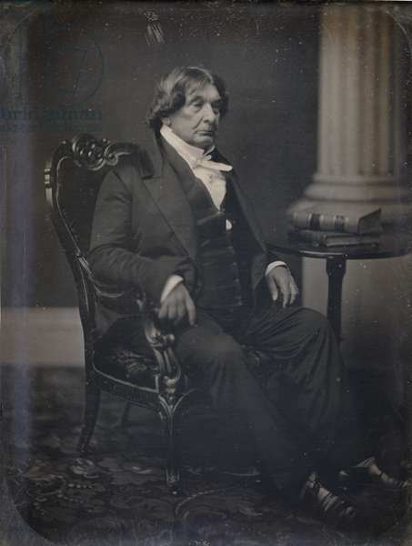 Lemuel Shaw (1781-1861) Chief Justice of the Massachusetts Supreme Court, 1845-61 (daguerrotype)