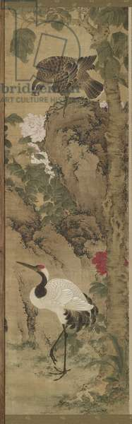 Birds and Flowers, Qing Dynasty, Kangxi Period, 1711 (ink & colour on silk)
