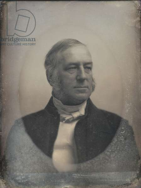 Dr. Edward Norris Kirk (1802-74) first pastor of Mt. Vernon Congregational Church, 1845-61 (daguerreotype)