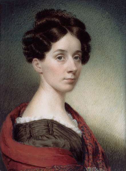 Self Portrait, 1830 (w/c on ivory)