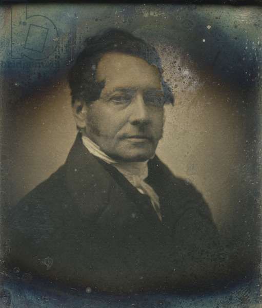 Portrait of a man, possibly Baron James de Rothschild (1792-1868) 1845-61 (daguerreotype)