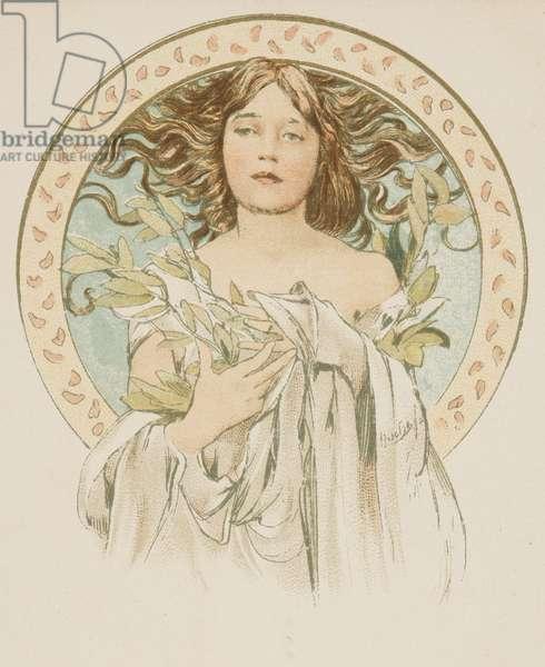 Cover for the magazine Cocorico 10/05/1899l No. 19 (colour litho)