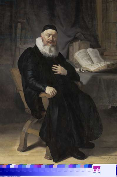 Reverend Johannes Elison, 1634 (oil on canvas)