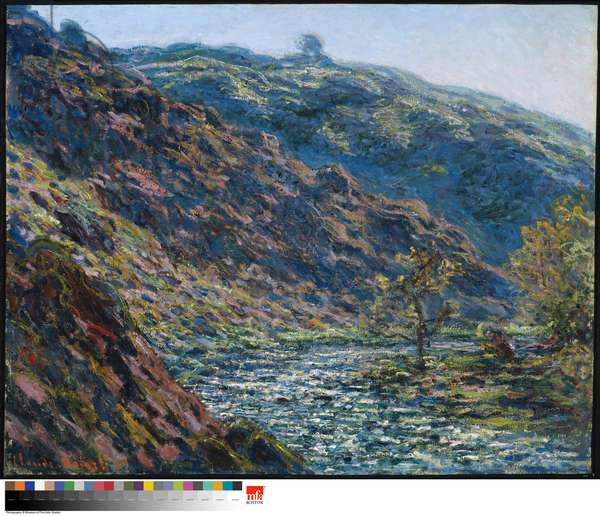 Valley of the Petite Creuse, 1889 (oil on canvas)
