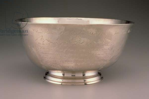 Sons of Liberty Bowl, from Boston, 1768 (silver)