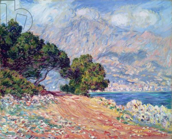 Cap Martin, near Menton, 1884 (oil on canvas)