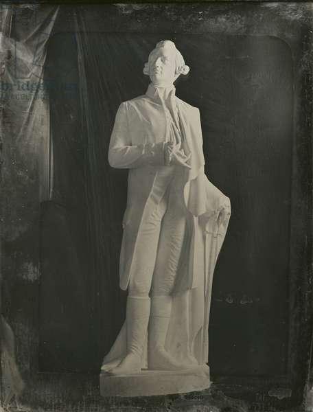 Statue of General Joseph Warren (1741-75) by Henry Dexter (1806-76) c.1851 (daguerreotype)