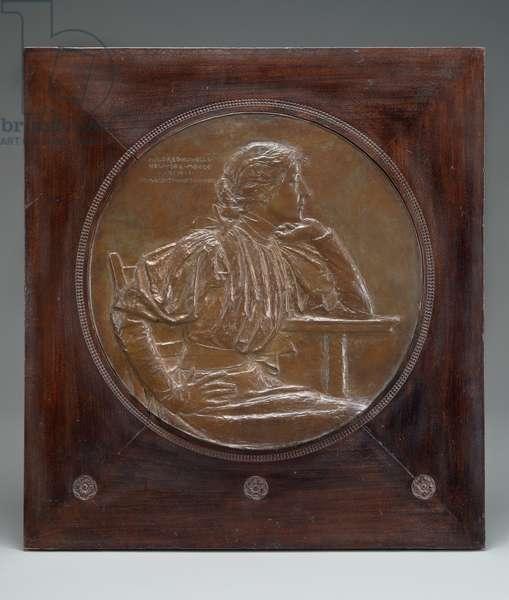 Mildred Howells, 1898 (bronze)