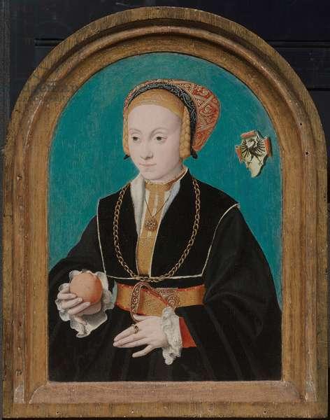 Margarethe von Aich (1517-70) c.1540 (oil on panel)
