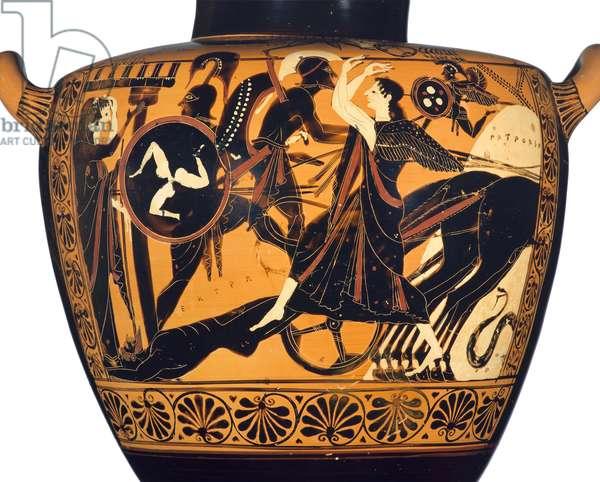 Water Jar, Archaic Period, c.520-510 BC (ceramic)