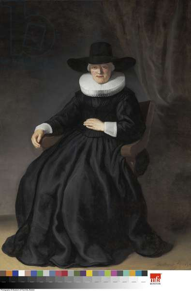 Maria Bockenolle (Wife of Johannes Elison), 1634 (oil on canvas)