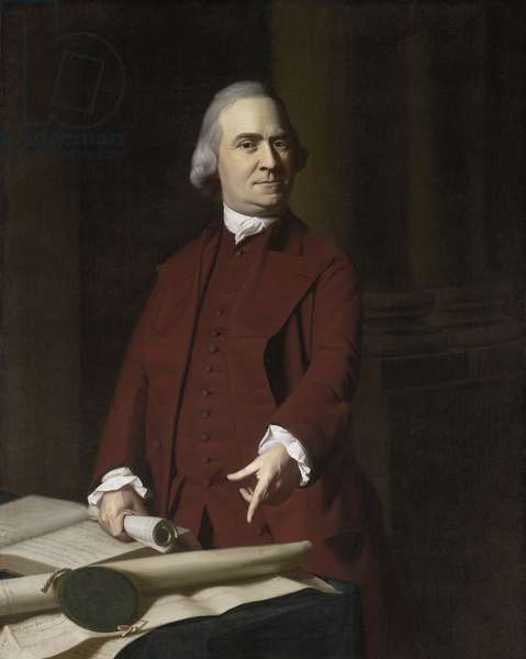 Samuel Adams, c.1772 (oil on canvas)
