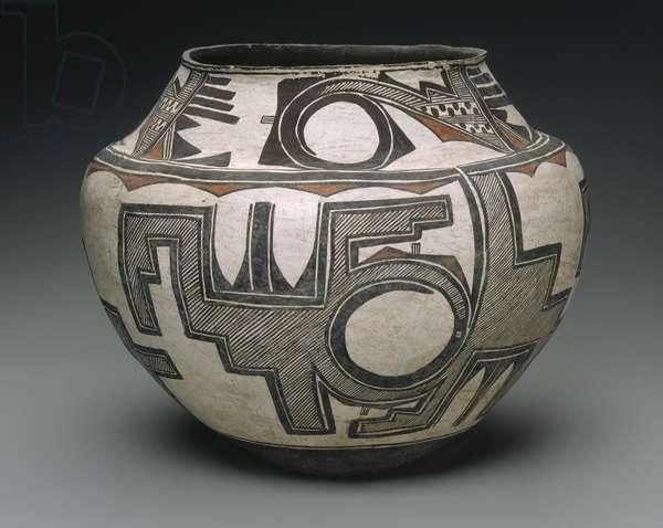 Water Jar, Zuni Pueblo, c.1880 (earthenware)