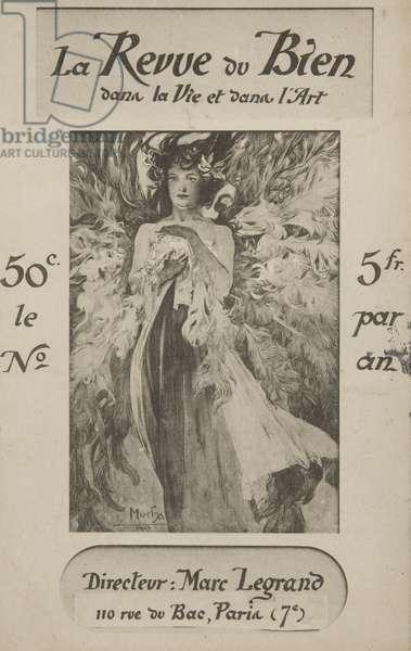 La Revue du Bien dans la Vie et dans l'Art, 1900 (litho)