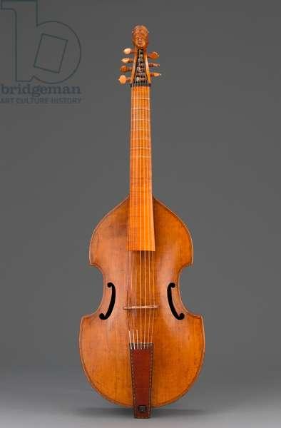 Bass Viola da Gamba, c.1710 (maple and spruce)