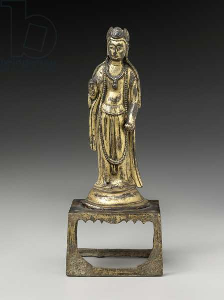 Bodhisattva (gilt bronze)