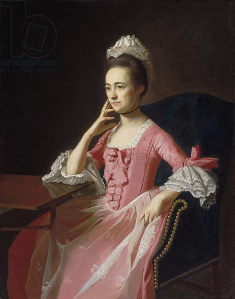 Dorothy Quincy (1747-1830), c.1772 (oil on canvas)