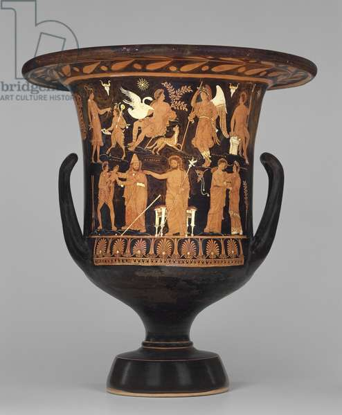 Mixing Bowl (calyx-Krater) Late Classical Period, c.340-330 BC (ceramic)