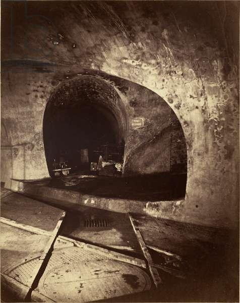 Subterranean Paris - Pont au Change, 1864-65 (albumen print)