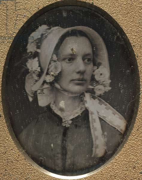 Mrs. Josiah Johnson Hawes, 1845-61 (daguerreotype)