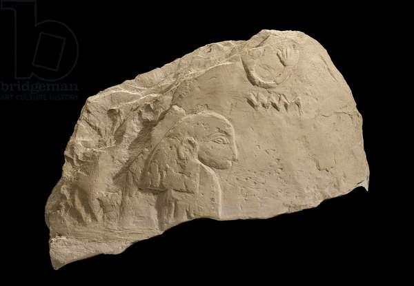Stele of a woman, Early Dynastic Period, Dynasty 1, reign of Djer, 2926-–2880 B.C. (limestone)