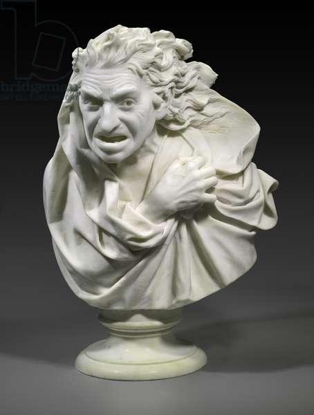 Meg Merrilies, c.1881 (marble)