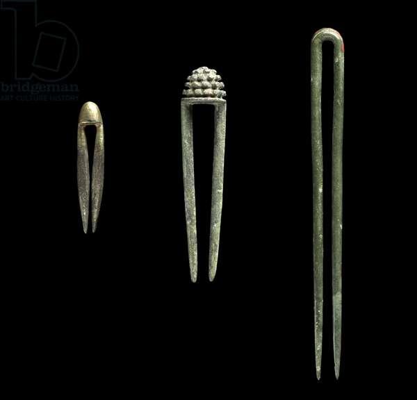Hairpins, Goryeo dynasty (bronze)