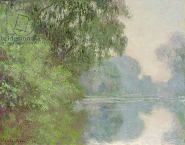 Morning on the Seine, near Giverny, 1896 (oil on canvas)