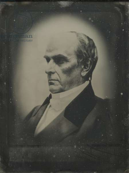 Daniel Webster (1782-1852) 22nd April 1851 (daguerreotype)