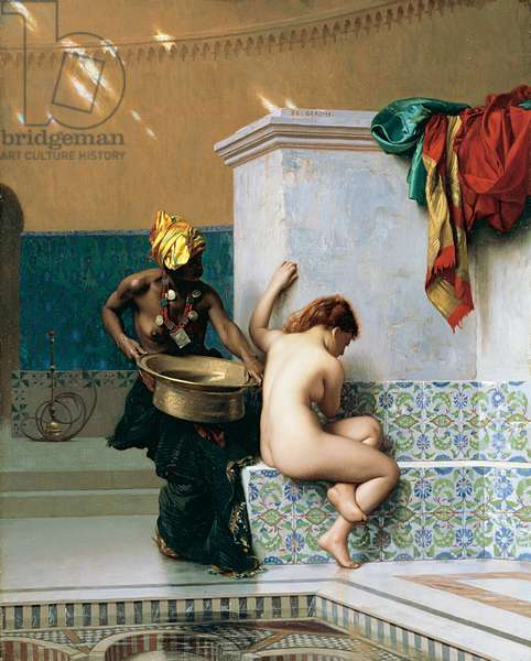 Moorish Bath, 1870 (oil on canvas)