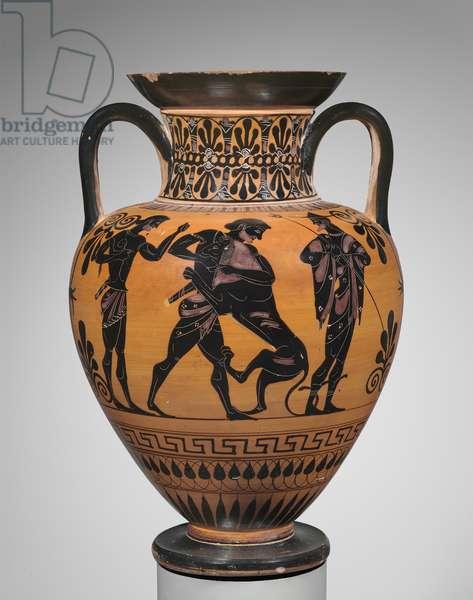 Amphora, Athens, c.520-510 BC (ceramic)