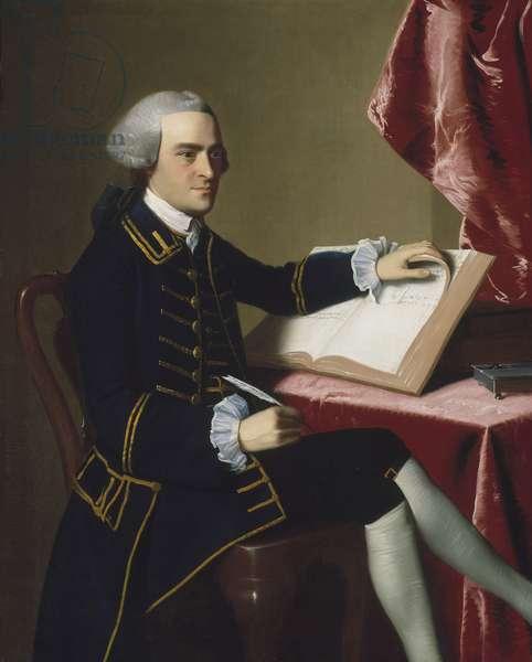 John Hancock, 1765 (oil on canvas)