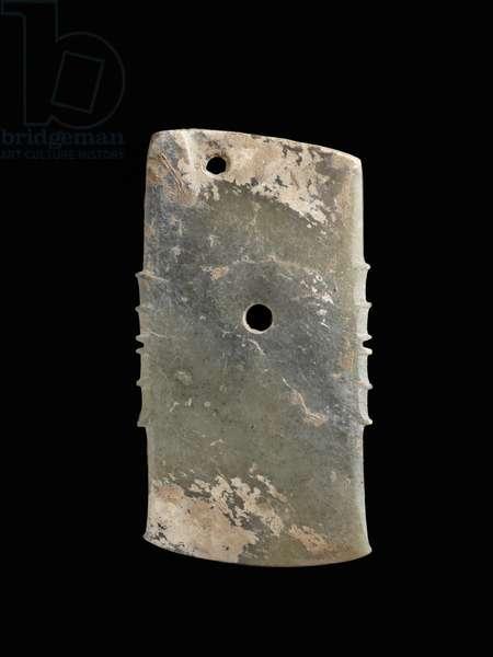 Axe, 12th - 11th century BC (nephrite)