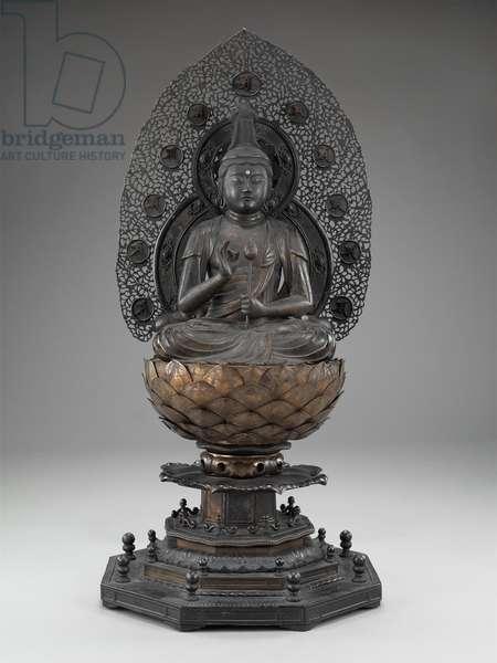 Shô Kannon, the Bodhisattva of Compassion, c.1269 (gilt bronze)