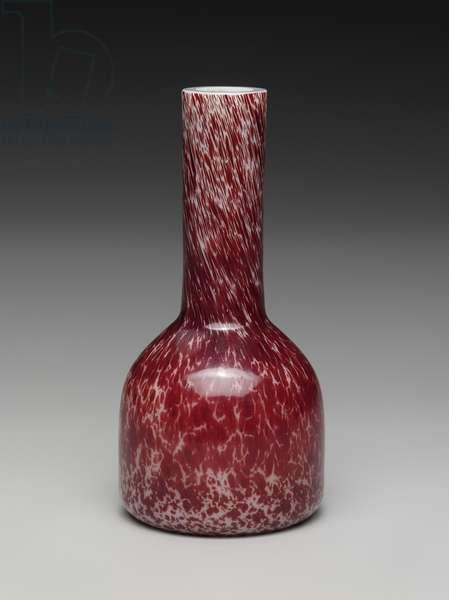 Vase, 1722-35 (glass)