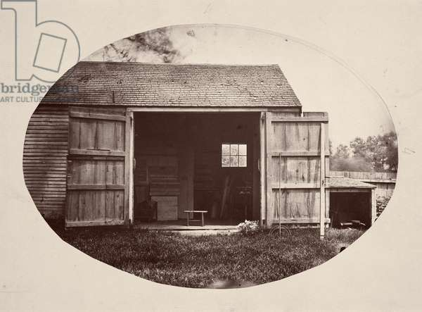 The Shed, 1864-65 (albumen print)