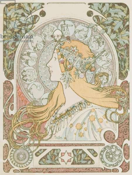 Zodiaque (colour litho)