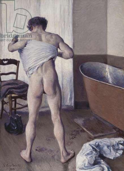 Man at his Bath, 1884 (oil on canvas)