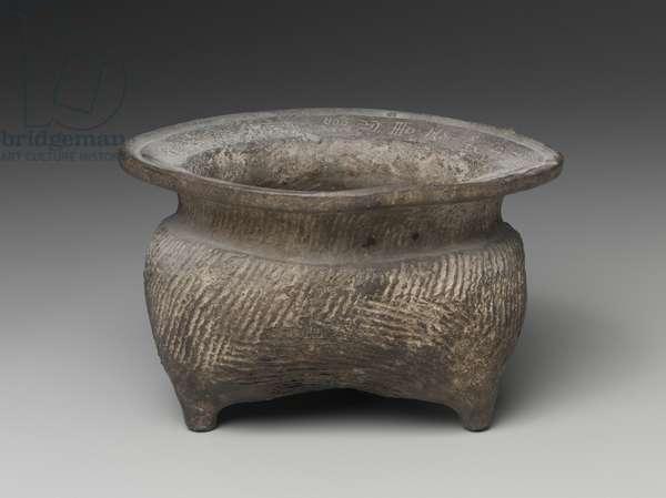 Tripod vessel (li), 6th - 5th century BC (earthenware)