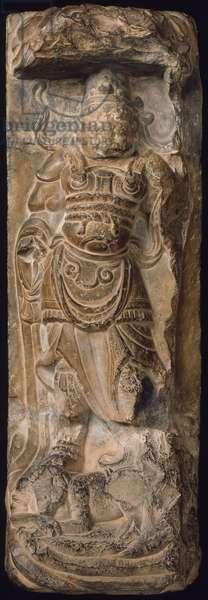 Divine Guardian (limestone)