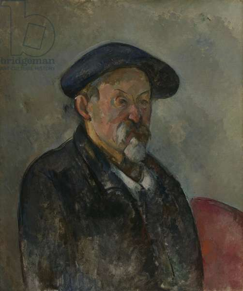 Self Portrait with a Beret, c.1898-99 (oil on canvas)