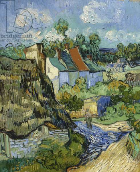 House at Auvers, 1890 (oil on canvas)