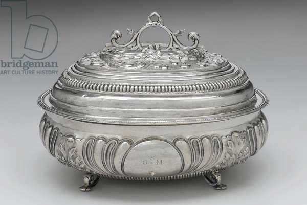 Sugar box, c.1702 (silver)